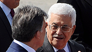 Abbas in Turkey for ceasefire efforts Photo: AFP