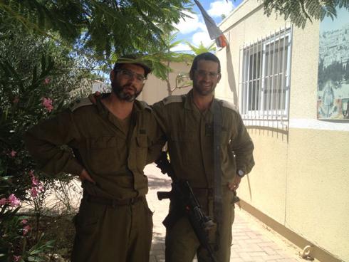 שני אחים בדרום, רועי ודורון (צילום: תומר קולר )