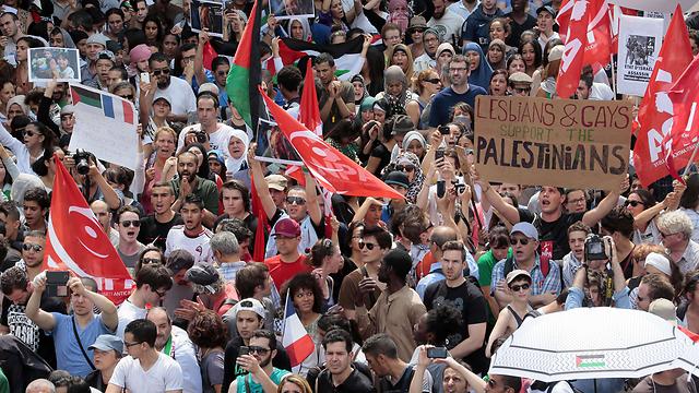 Paris protests (Photo: AFP)