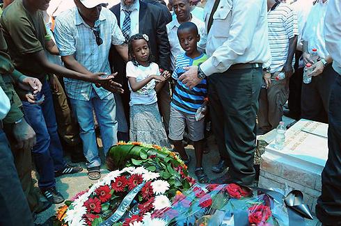 Beinisian Kashon is laid to rest (Photo: Herzl Yosef) (Photo: Herzl Yosef)