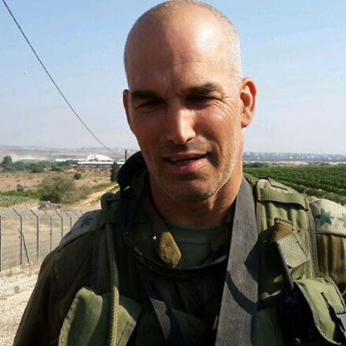 Nahal Brigade Commander Colonel Uri Gordin (Photo: Yoav Zitun)