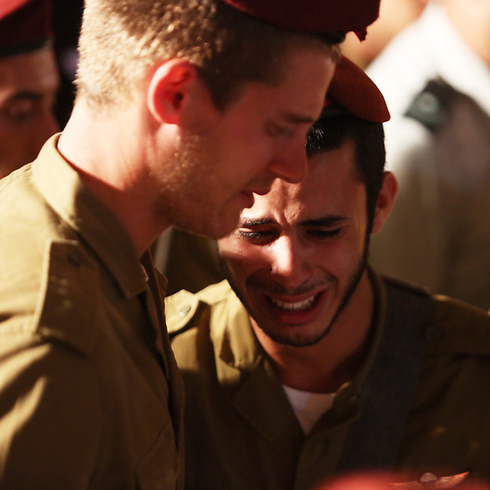 Evyatar Turgeman is laid to rest (Photo: Gil Yohanan) (Photo: Gil Yohanan)