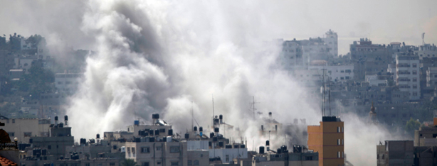 IAF strike on Gaza (Photo: AP)