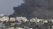 IDF bombardment in Gaza Photo: Reuters