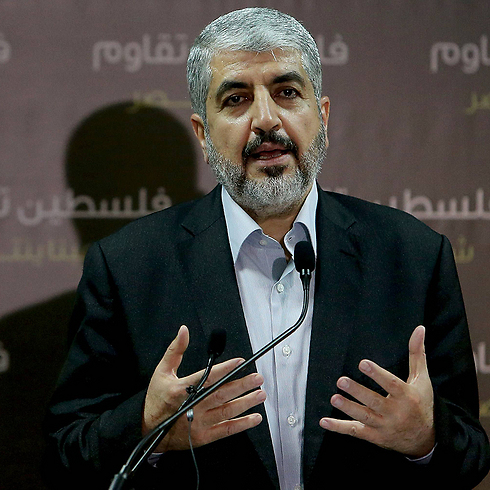 Hamas political chief Khaled Mashal (Photo: AFP) Photo: AFP
