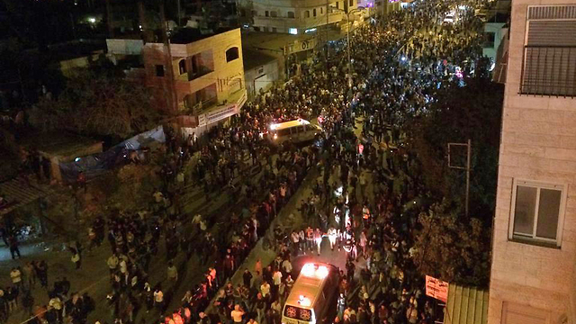 Qalandia: Two killed in anti-Gaza op protest