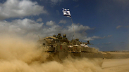 IDF armored personnel carrier Photo: EPA