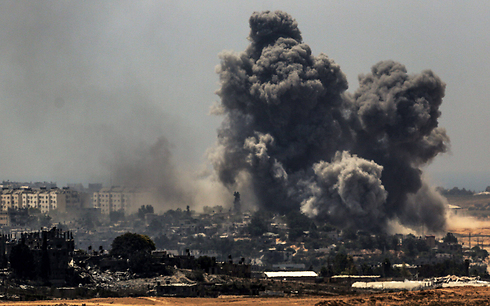 IDF strikes on Gaza (Photo: EPA)