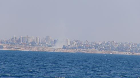 The Gaza shore (Photo: Barel Efraim)