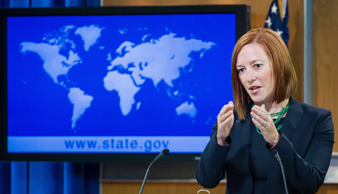 US State Department Spokesperson Jen Psaki (Photo: AFP)
