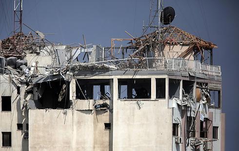 Hamas-run Al Aqsa television (Photo: AP)