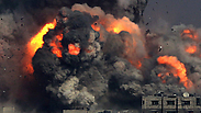 IAF attack in Gaza Photo: EPA