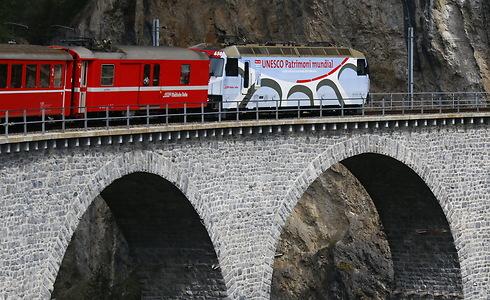 שוויץ - טיול במדינה עם רכבת