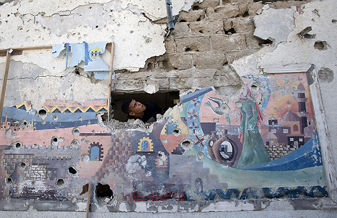 UNRWA school hit in Gaza (Photo: AFP)