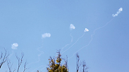 Iron Dome downs rockets over Sderot Photo: Motti Kimchi