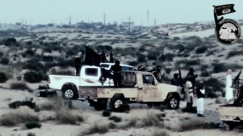 Militants from Ansar Bayt al-Maqdis in Egypt.