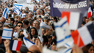 Pro-Israel demonstration in France. Photo: Reuters