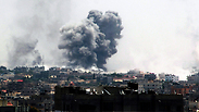 IDF attack in Rafah Photo: EPA