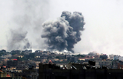 IDF attacks in Rafah (Photo: EPA)