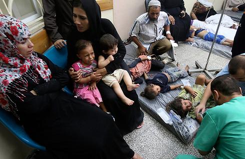 Rafah hospital (Photo: Reuters) (Photo: Reuters)