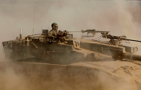Forces on Gaza border (Photo: Reuters)