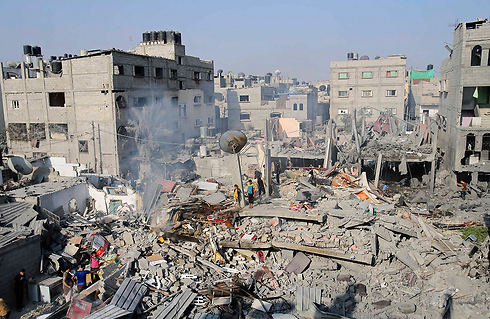 Devastation in Rafah (Photo: Reuters) Photo: Reuters