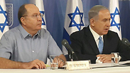 Defense Minister Ya'alon and Prime Minister Netanyahu Photo: Gilad Morag