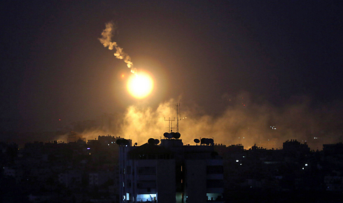 Overnight attacks in Gaza (Photo: EPA)