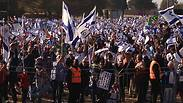 Pro-Israel demonstraters in South Africa