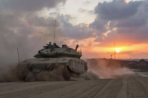 Forces on Gaza border (Photo: EPA)