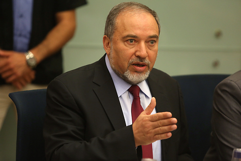 Foreign Minister Avigdor Lieberman. UN control of Gaza (Photo: Gil Yohanan)