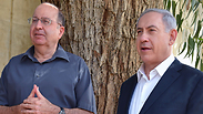 Defense Minister Ya'alon and Prime Minister Netanyahu Photo: Ariel Hermoni, Defense Ministry