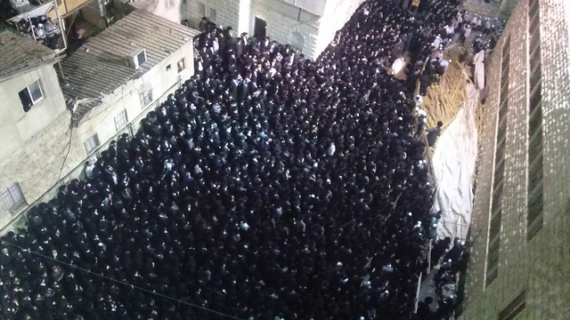 The funeral for Rabbi Wallis (Photo: News 24)