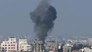 IAF airstrike in Gaza Photo: AP