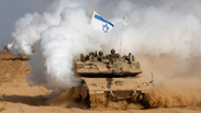 Israeli tank exiting Gaza. Photo: Reuters