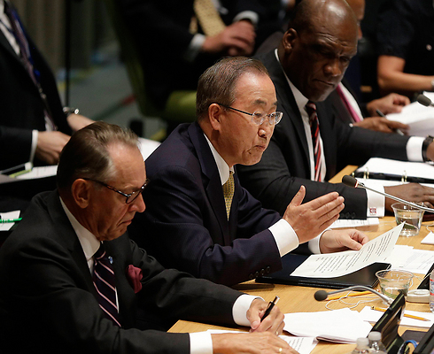 UN Secretary General Ban Ki-Moon: Stop the senseless cycle of suffering in Gaza (Photo: AP)