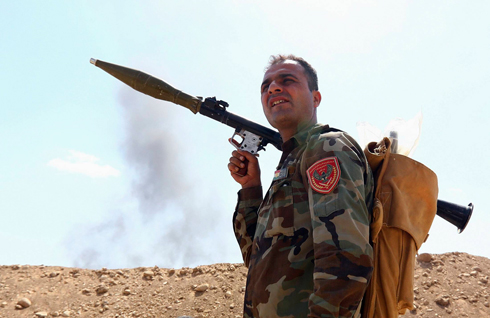 Kurdish fighters in the Peshmerga have found themselves outgunned by the Islamic State. (Photo: Reuters) (Photo: Reuters)