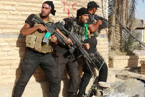 Elite Iraqi forces fight Islamic State (Photo: Reuters)
