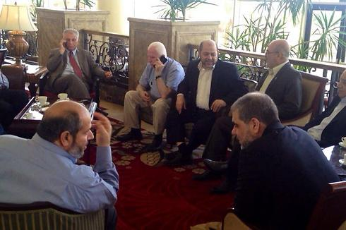 Palestinian delegation to Cairo talks