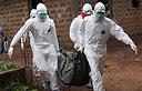 אבולה בליבריה (צילום: EPA)