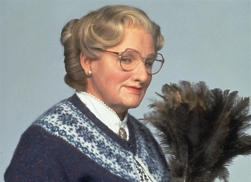 Williams in 'Mrs. Doubtfire'