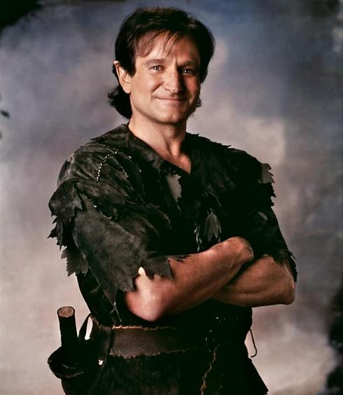 Williams as Peter Pan in 'Hook'