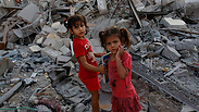 Gaza Strip ruins during Operation Protective Edge Photo: EPA