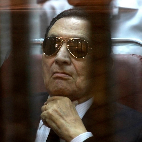 Hosni Mubarak in court, April 2014 (Photo: AP) (Photo: AP)
