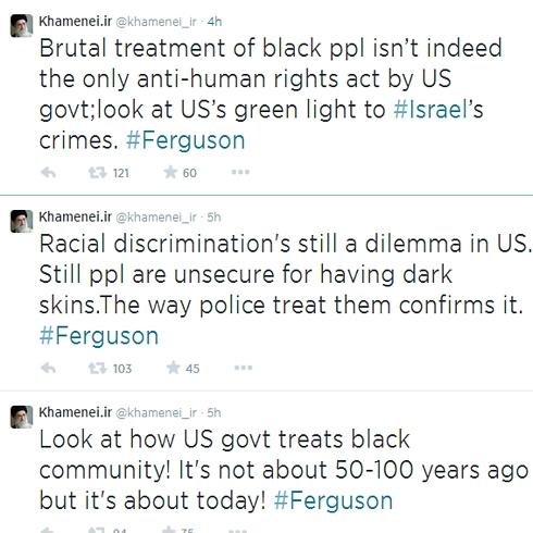 Khamenei's Tweets (Photo: Screenshot / Twitter)