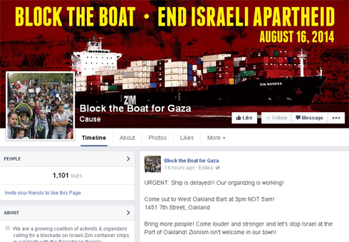 Block the Boat Facebook page (Photo: Facebook screenshot)