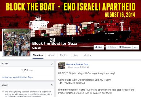 Block the Boat Facebook page (Photo: Facebook screenshot)