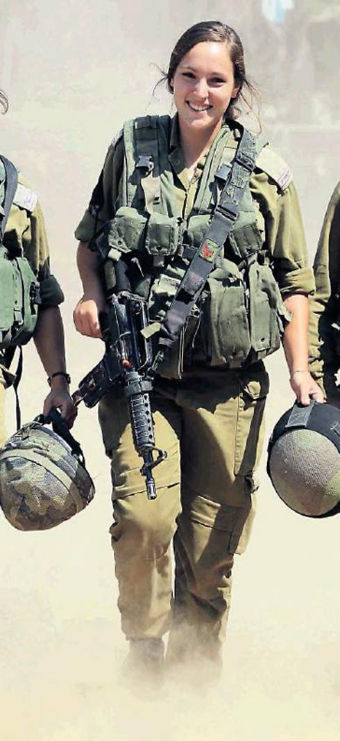 Sgt. Tamar Bar-Ilan (Photo: Gadi Kablo, Yedioth Aharonoth) (Photo: Gadi Kablo, Yedioth Aharonoth)