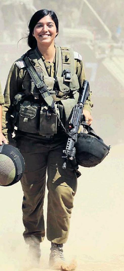 Staff Sgt. Noam Dan (Photo: Gadi Kablo, Yedioth Aharonoth) (Photo: Gadi Kablo, Yedioth Aharonoth)