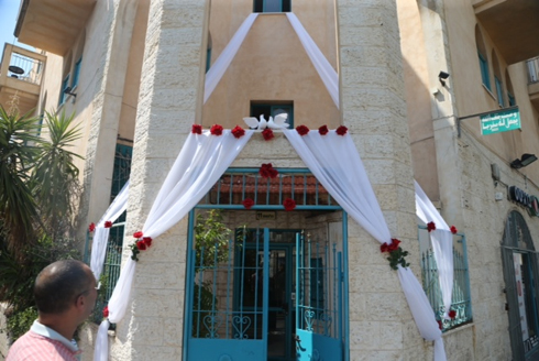 Mahmoud Mansour and Morel Malcha's home (Photo: Moti Kimchi)